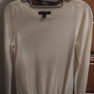 Sweaters - Ann Taylor 5% cashmere sweater cream